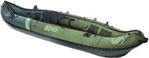 #3. Sevylor Rio 1-Person Fishing Canoe