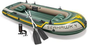 #4.Intex Seahawk Inflatable Boat Series