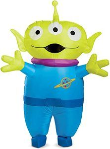 #5 Disguise Unisex Alien Adult Inflatable Costume