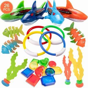 #5 HENMI 26 Pack Diving Toy