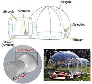 #5 HUKOER Luxurious Outdoor Bubble Tent