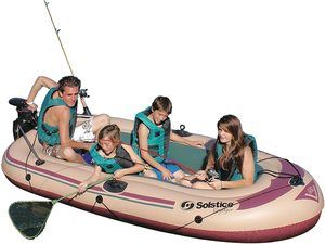 #5. Solstice Swimline 6-Person Voyager Boat