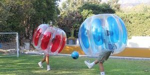 #6. Sportspower Kids Thunder Inflatable Bubble Soccer Suits