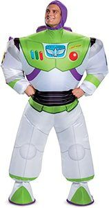 #7 Disguise Men's Buzz Inflatable Lightyear Adult Costume