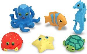 #7 Melissa & Doug Seaside Sidekicks Creatures Sea Set
