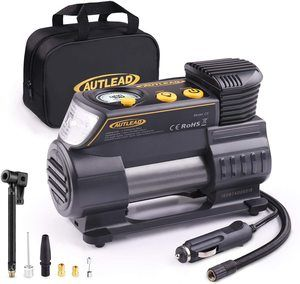 #7.AUTLEAD C2 12V DC Air Compressor Portable Tire Inflator Pump
