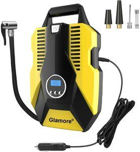 #8. Glamore Portable 12V DC Air Compressor