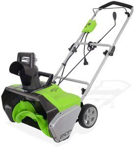 #9 Greenworks 20-Inch Snow Thrower