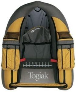 #9. Classic Accessories Togiak Fishing Float Tube Inflatable