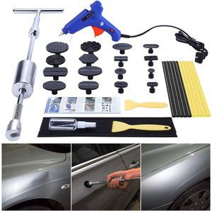 1. GLISTON Car Dent Puller Kit, 16 pcs
