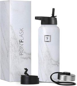 1. Iron Flask Sports Water Bottle -3 Lids
