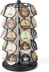 1. K-Cup Carousel - Holds 35 K-Cups in Black