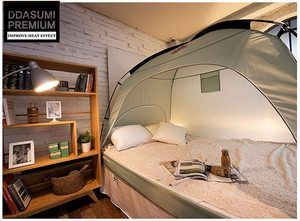 10. DDASUMI Warm Tent for Single Bed