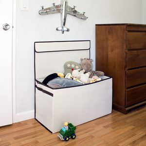 10. Great Useful Stuff Collapsible Toy Chest