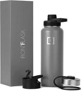 10. IRON °FLASK Sports Water Bottle -3 Lids