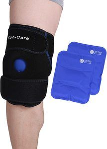 10. Koo-Care Knee Support Brace -Hot Cold Therapy Wrap
