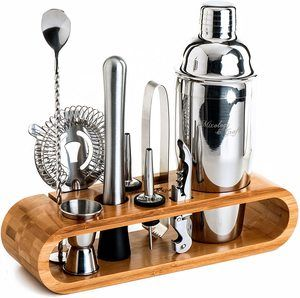 10. Mixology Bartender Kit 10-Piece Bar Tool Set