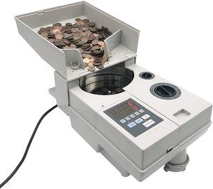 10. Ribao CS-10S High Speed Portable Coin Sorter