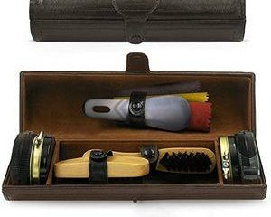 10. Stone & Clark 12PC Shoe Polish & Care Kit