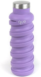 10. que Bottle – 20 oz Collapsible Water Bottle, Violet Purple