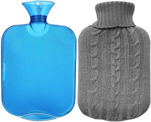 2. All one tech Transparent Classic Rubber Hot Water Bottle
