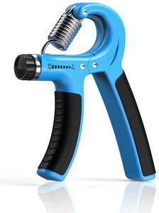 2. Longang Hand Grip Strengthener, Adjustable Resistance 11-132 lbs