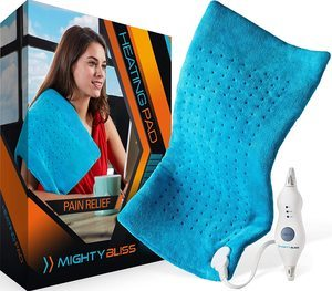 2. MIGHTY BLISS™ Large Electric Heating Pad