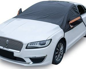 2. Marksign Windshield Snow Cover for Cars, Universal Fit