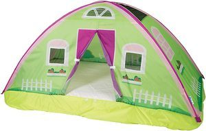 2. Pacific Play Tents 19600 Kids Cottage Bed Tent