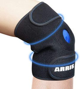 3. ARRIS Ice Pack, Reusable Hot Cold Therapy Knee Wrap