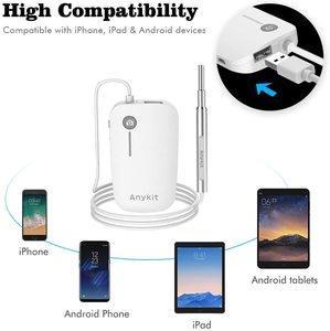 3. Anykit Upgraded 720P HD Ear Scope Camera