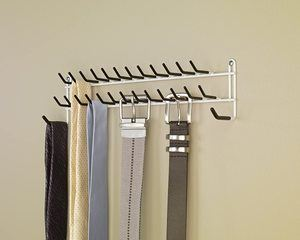 3. ClosetMaid 8051 Tie and Belt Rack