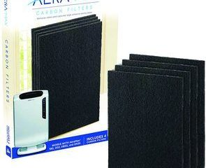 3. Fellowes 0 Carbon Filter 4 pk, Black