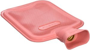 3. HomeTop Premium Classic Rubber Hot Water Bottle, 2 Liters