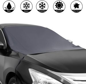 3. Shynerk Magnetic Edges Car Snow Cover
