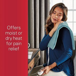 3. Sunbeam Heating Pad for Pain Relief XL King Size