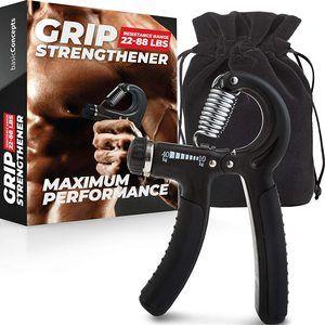 4. Adjustable Hand Grip Strengthener (11 to 88 LB)