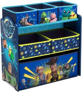 4. Delta Children 6-Bin Toy Storage Organizer