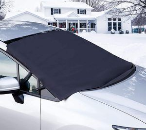 4. OxGord Windshield Snow Cover, All Weather Auto Sun Shade