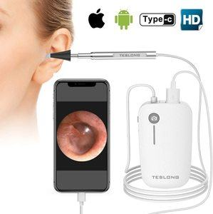 4. Teslong Otoscope iPhone HD Inspection Camera
