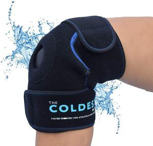 4. The Coldest Knee Ice Pack Wrap, Hot, and Cold Therapy