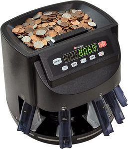 5. Cassida C200 Coin Sorter, Black