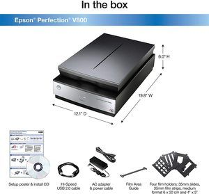 5. Epson Perfection V800 Photo scanner