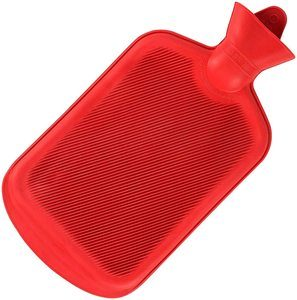 5. SteadMax Hot Water Bottle, Red