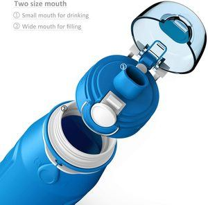 5. Valourgo 35 oz Collapsible Water Bottle