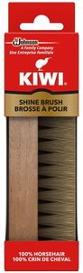 6. Kiwi 100% Horsehair Shine Brush