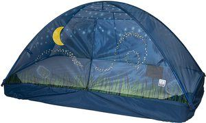 6. Pacific Play Tents Glow In The Dark Firefly Bed Tent