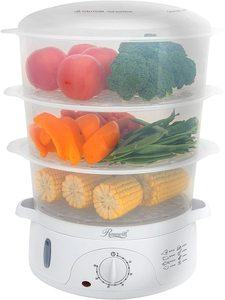 6. Rosewill 3-Tier Stackable Baskets