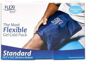 7. FlexiKold Gel Ice Pack, Two Reusable Cold Therapy Packs