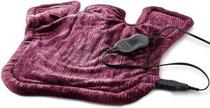 7. Sunbeam Heating Pad for Neck & Shoulder Pain Relief